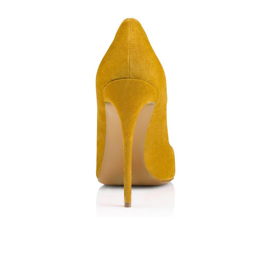 Xue Damenschuhe PU Frühling Sommer wies wies wies Schuhe Heels nationalen Stil Pfennigabsatz Hochzeit Party & Abend Kleid Formale Business-Arbeit (Farbe   B, Größe   34) B07DQF3H7X Tanzschuhe Eleganter Stil 82f7d1