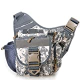 Piscifun Fishing Tackle Bags Single Shoulder Bags, Digital Camouflage