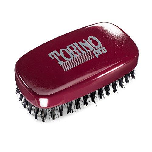 Torino Pro Wave Brush #780 By Brush King - 11 Row Hard 360 Waves Palm Brush - Great for Wolfing