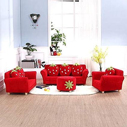 Amazon.com : ZnMig Lazy Sofa Kids Couch Armrest Chair ...