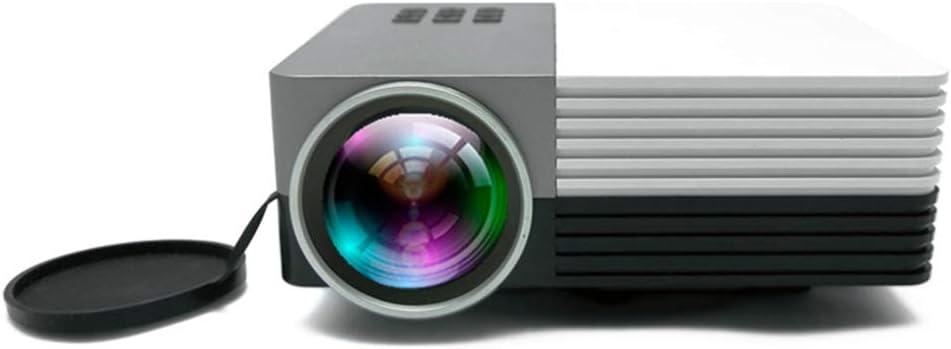 Proyector LED portátil (WVGA, 250 lúmenes, HDMI, USB, USB-C ...