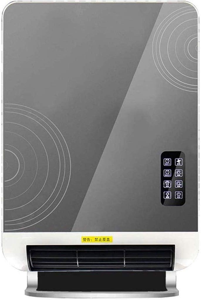 JGWJJ Calentador eléctrico de Espacio - Montaje en Pared Calentador 2400W con Base de pie, con termostato, Ahorro de energía, la función de Temporizador, 3 Modos, rápida Sala de Calor del Calentador,