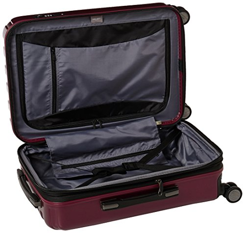 Delsey Luggage Helium Titanium Carry-On EXP Spinner Trolley Red, Black Cherry, One Size by DELSEY Paris (Image #5)