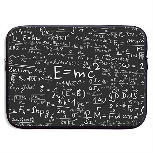 CHJOO Laptop Sleeve Bag Famous Physical Equations Pattern 13