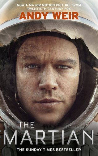 Book cover from The Martian by Andy Weir