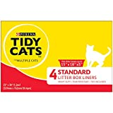 "Purina Tidy Cats Standard 22"" X 30"" with Ties Litter Box Liners - (12) 4 ct. Box"