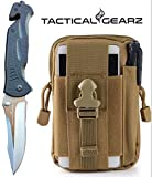 TacticalGearz LIGHTNING DEAL Premium G10 Folding Knife Bundle! G10 Tactical Survival Knife Nested in a Tactical Molle Day Bag (Beige) Review