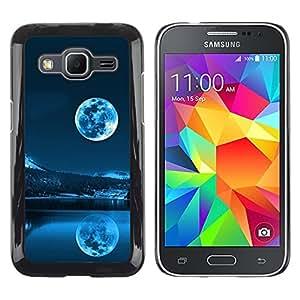Caucho caso de Shell duro de la cubierta de accesorios de protección BY RAYDREAMMM - Samsung Galaxy Core Prime SM-G360 - Space Planet Galaxy Stars 40