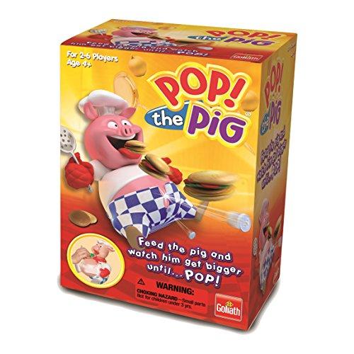 Goliath Games LLC 30546 Pop The Pig, - Pig Pop