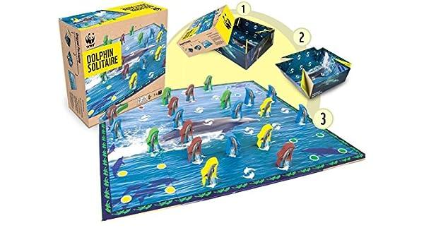 WWF - Solitario de Delfines, Juego de Tablero (980): Amazon.es: Juguetes y juegos
