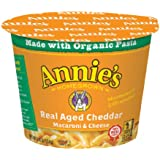 Annie's Real Aged Cheddar Microcup Macaroni & Cheese 2.01 oz.Cup (Pack of 12)