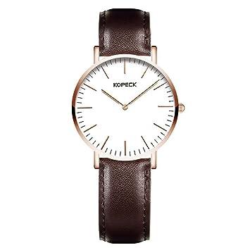 North King Cuarzo Relojes Fecha Pantalla Grande Blanco Dial Impermeable Reloj Cuarzo Reloj Relojes Bonitos para