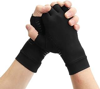 Générique 1 Paire de Gants Anti-arthrite en cuivre pour soulager la Douleur et protéger Les Mains