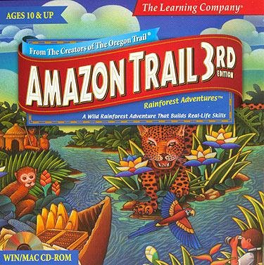 Drake Off Road The Learning Company Yunshan Amazon Trail 3rd Edition: Rainforest Adventures