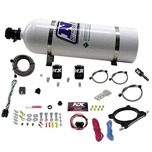 Nitrous Express 20951-15 5.0L Plate Nitrous System w/15 lb. Bottle/Brackets Ford 50-250HP 5.0L Plate Nitrous System ()