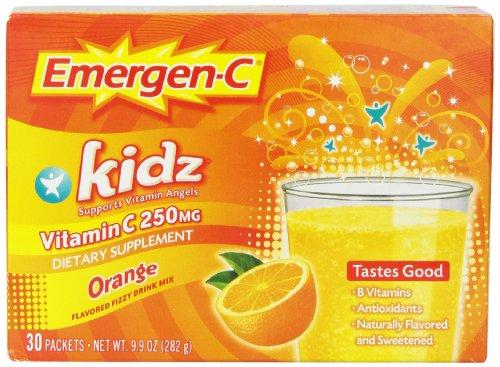 Emergen-C Kidz Orange, 30-граф (9,9 унции всего)