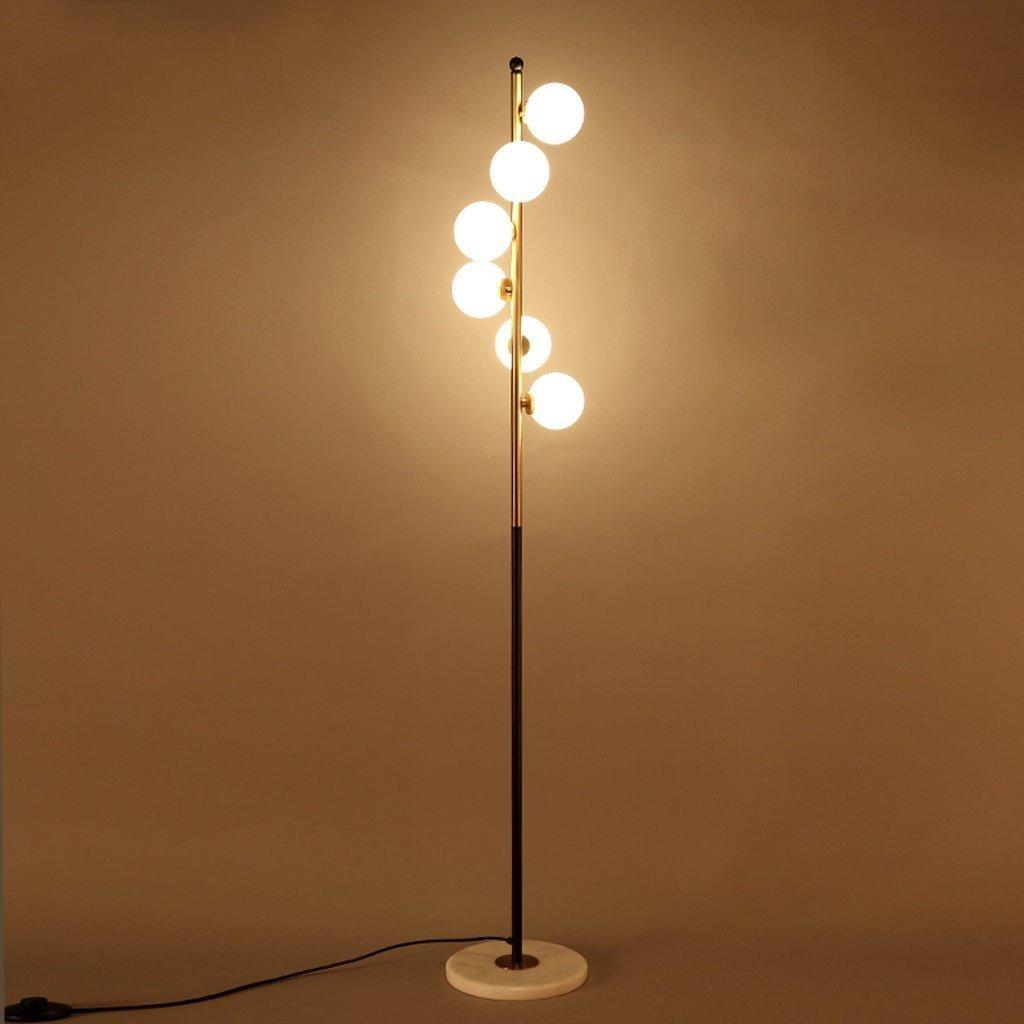 MOMO Stehleuchte einfache moderne Stehlampe Wohnzimmer Beleuchtung Schlafzimmer Studie Stehleuchte Klavier Lampe Angeln Lampe Mahjong Lampe