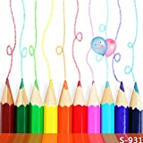 5x7ft Vinyl Digital Color Pencil Crayon Drawings Photography Studio Backdrop Background