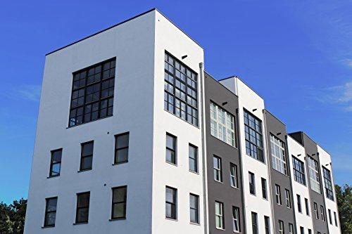 Nano Fassadenfarbe seidenmatt Weiß oder Wunschfarbton | BEKATEQ Wandfarbe BE-520 Hausfassaden Versiegelung Außenfarbe Hausfarben mit ABPERLEFFEKT Fassadenfarben WASSERABWEISEND, HOHE DECKKRAFT, ATMUNGSAKTIV (1L - Weiß)