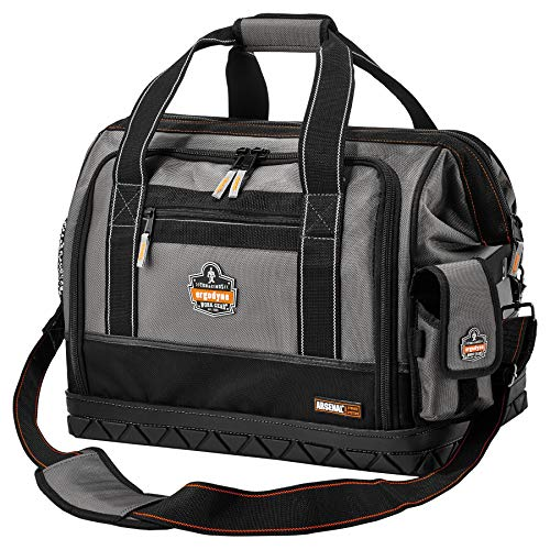 Ergodyne Arsenal 5818 Tool Bag, Zip Open Sides, 61-Pockets, Large