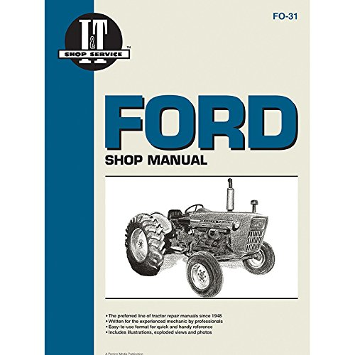 Amazon.com: Service Manual Ford Tractor FO-31 2000,2110,3000 ... on