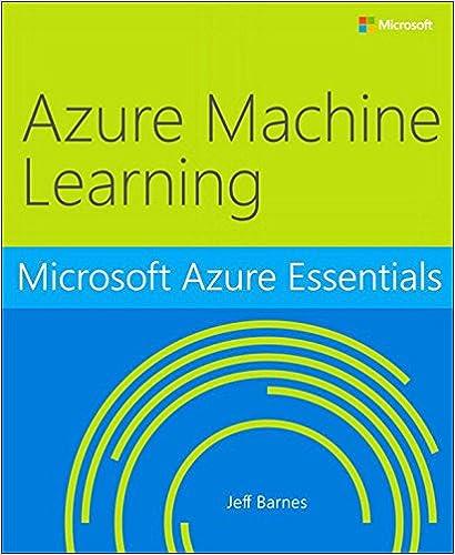 Microsoft Azure Essentials Azure Machine Learning