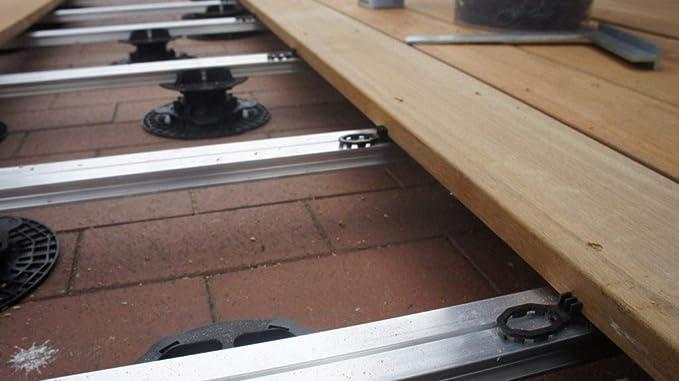Abstandshalter Distanzhalter f/ür Terrassendielen 7mm 800 St/ück Abstandhalter
