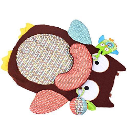 Owl Animal Baby Game Mat Cute Carpet Kids Room Children Floor Play Car Crawling Rugs Pad Gym by Floor Games