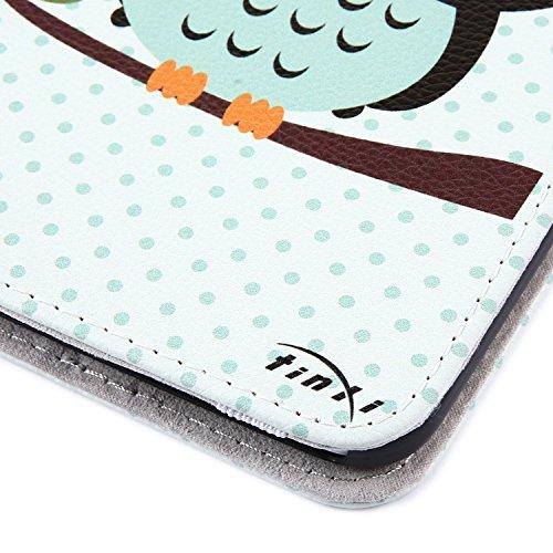 Tinxi® Custodia Case In Pelle PU Per Samsung Galaxy Tab 3 7.0 Lite ...