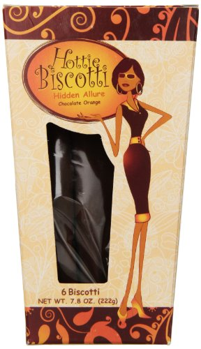 Biscotti Favors (Hottie Biscotti Hidden Allure Biscotti, 6 Counts, 7.8 oz)