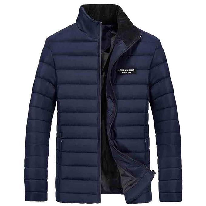 Abrigos Hombre Invierno Ropa Elegante,Sudadera Zip Outwear de Invierno Cálido Slim Fit Abrigo Grueso