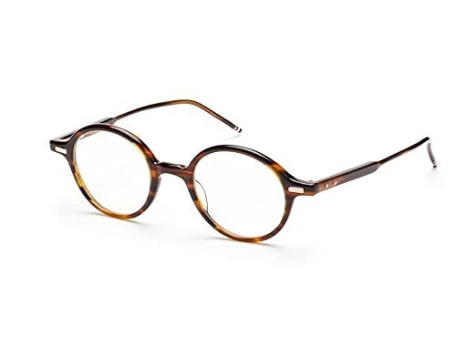 129ba965c276 Amazon.com: Thom Browne TB-407-B-WLT-46 Eyeglasses Tortoise Brown w ...