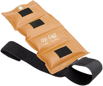 Gold/'s Gym 10-Pound Pair Adjustable Ankle Weights W