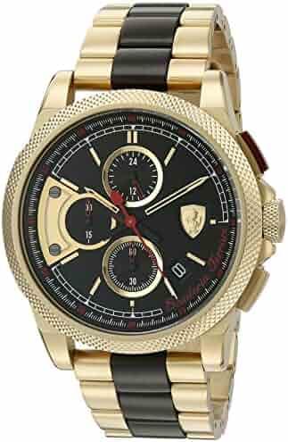 5e1f793289 Ferrari Men s  Formula Italia S  Quartz Stainless Steel Casual Watch  (Model  0830316