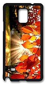 Autumn landscape Easter Thanksgiving Personlized Masterpiece Limited Design PC Black Case for Samsung Galaxy Note 4 by Cases & Mousepads