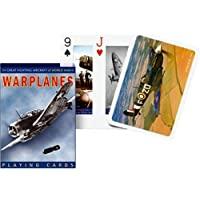 Piatnik Playing Cards - Warplanes single deck by Gibsons Games