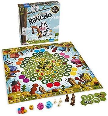 MORAPIAF Rancho - Juego de Mesa en Castellano: Amazon.es: Juguetes y juegos