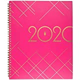 inkWELL Press 2020 Weekly & Monthly Planner, liveWELL, 8-1/2' x 11', Large, Pink (IP641P-905)