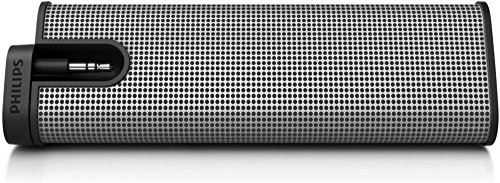 Philips SBA1610/37 Philips Silver Portable Speaker(Silver,1) (Discontinued by Manufacturer)