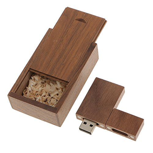 Walnut Memory Stick Flash Wooden