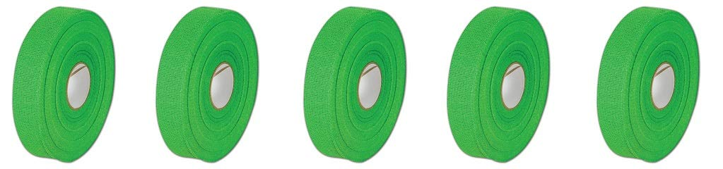 Brasel Products 1230 Green 3/4'' Bantex Cohesive Gauze Finger Tape, 0.75'', Green (Pack of 16) (5-(Pack))