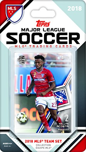 FC Dallas 2018 Topps MLS Soccer Factory Sealed 13 Card Team Set with Kellyn Acosta and Maxi Uruti plus