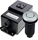 GTS GA7 Power 110 VAC Single Outlet Sink Garbage Disposal Air Activated Switch