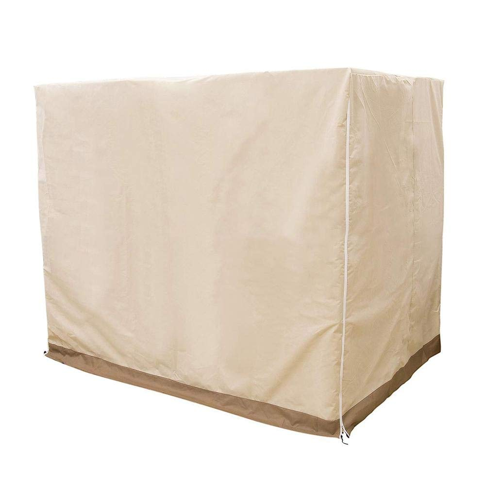 Baiancy Patio Swing Cover Waterproof UV Resistant Dustproof Cover for Outdoor Garden by Baiancy