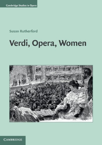 Verdi Opera Women  Cambridge Studies In Opera   English Edition