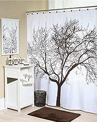 Tree of Life Fabric Shower Curtain