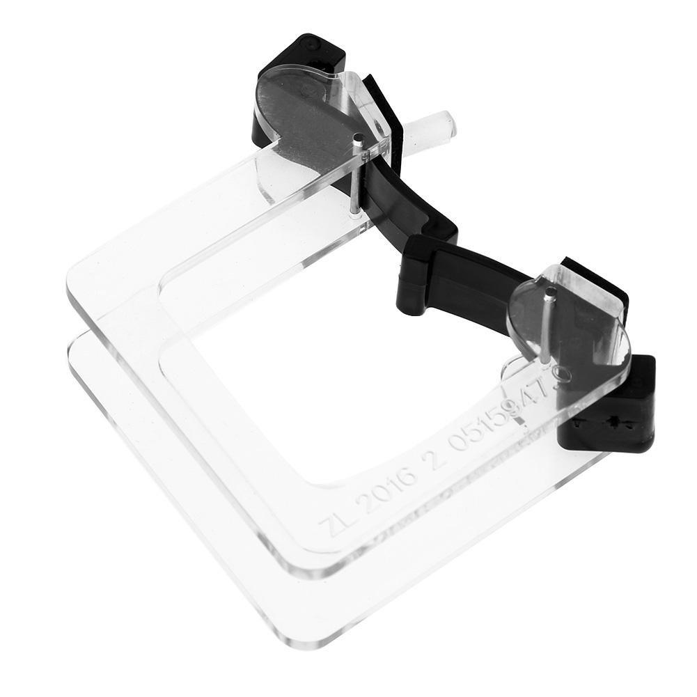Collimator Tool Crystal 4/4 Violin Bow Straighten Collimator Corrector Tool Guide Beginner Training Practice ttnight