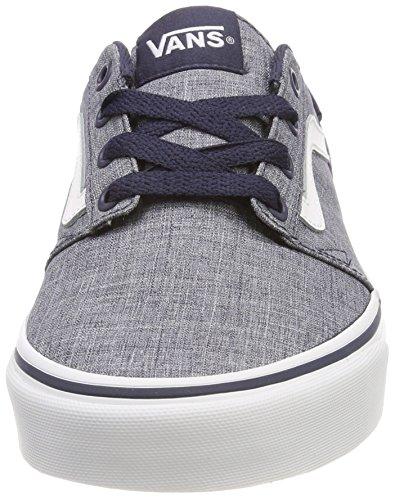 Blu Textile Rock Sneaker Stripe Chapman Vans Uomo f8qwCUCT