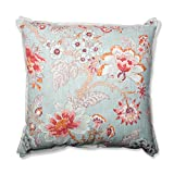 Pillow Perfect Room with A View Cerulean 24.5-Inch Floor Pillow