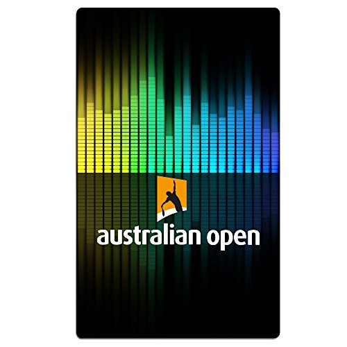 Christina Beach Towel 30x50 Inch Australian Open Logo White